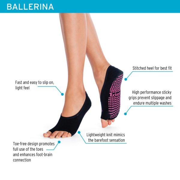 Ballerina - infographics